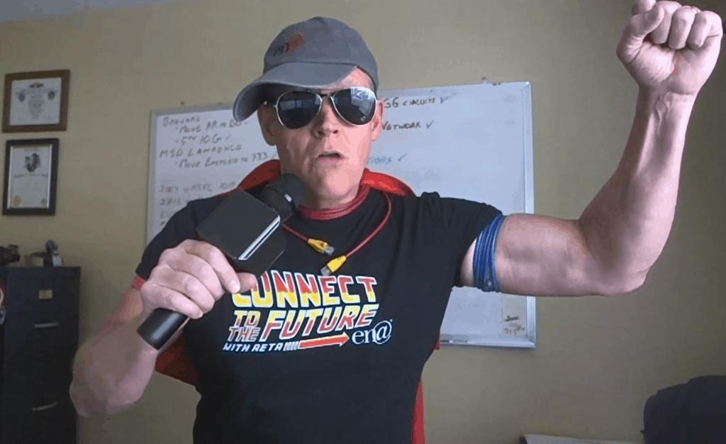 Doug Gluntz as Capacity Planning Man