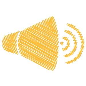 Megaphone Scribble Icon