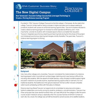 Digital Transformation Tusculum Thumbnail