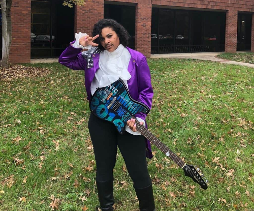 Christina Irick Prince costume