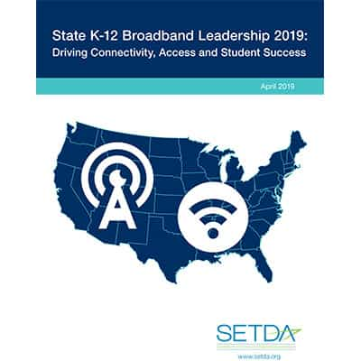 SETDA Broadband State Leadership Whitepaper Thumbnail